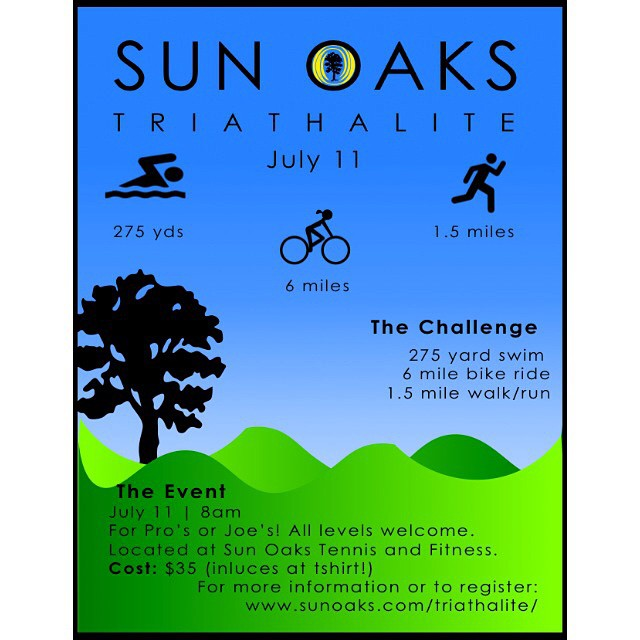 It's never too soon to start thinking about your next challenge!! Our next Tri is in July! #sunoaks #tritraining #reddingtriathlon #triathlon #swim #bike #run